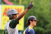 052717 - Blessed Trinity - CJ Abrams after hitting a triple